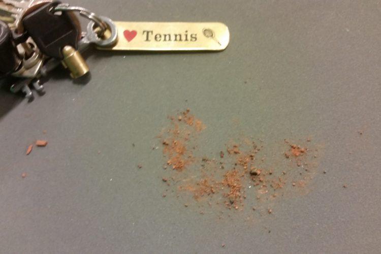 Rene tennissko!